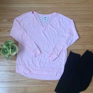 Light Pink Long-Sleeve Top